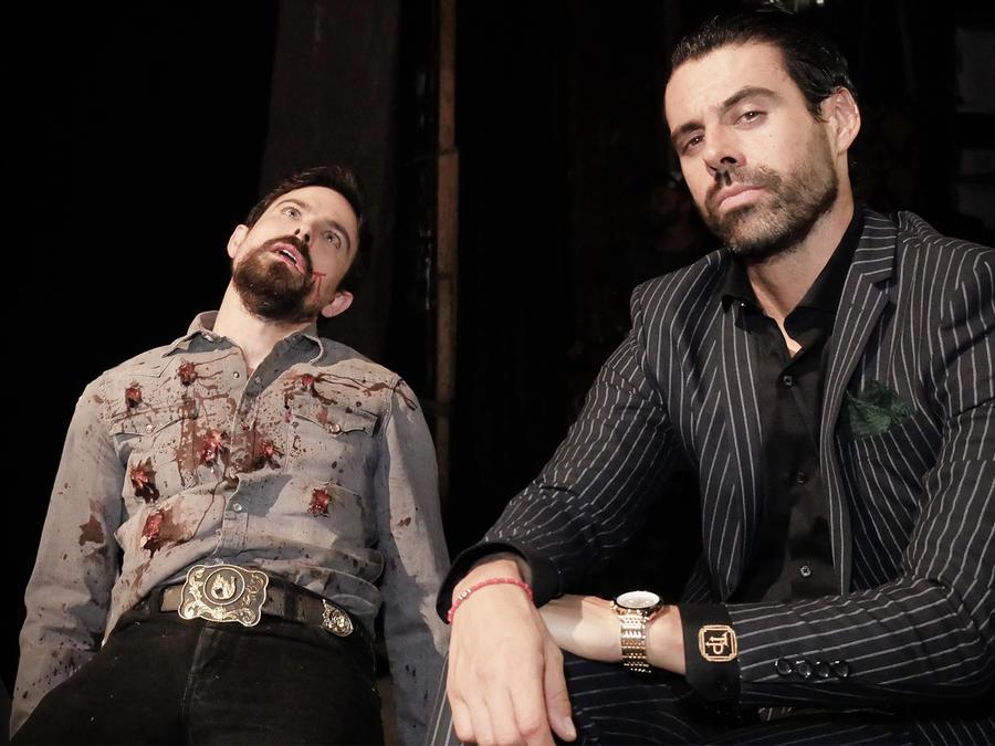 Jorge Luis Moreno, Emmanuel Esparza, juntos, El Señor de los Cielos