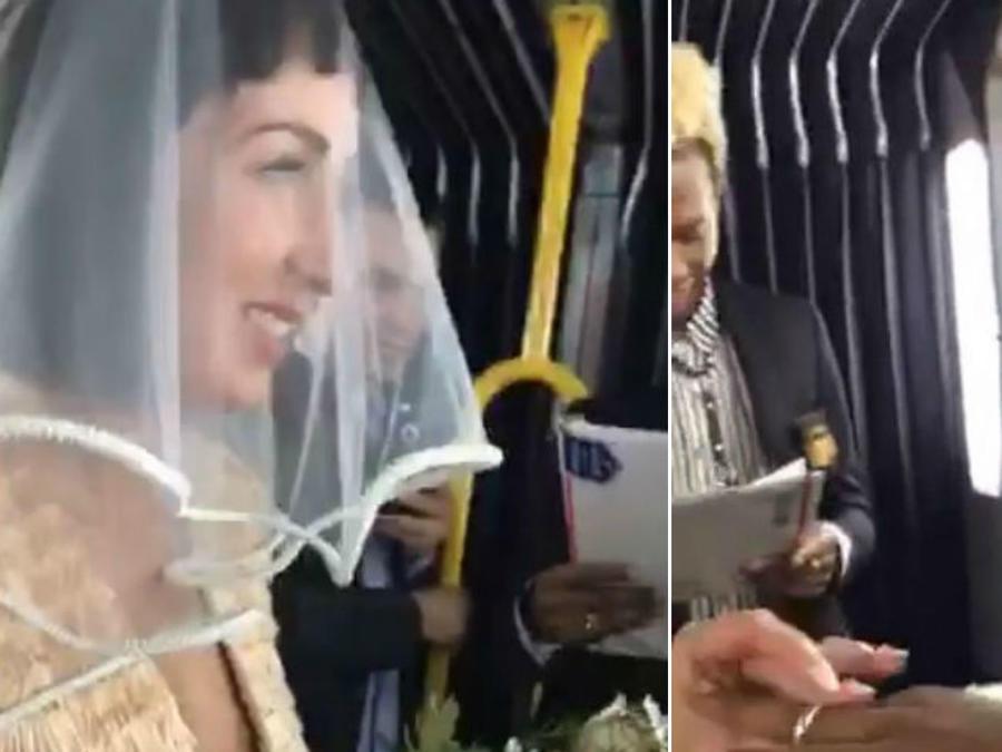 Boda en un autobús