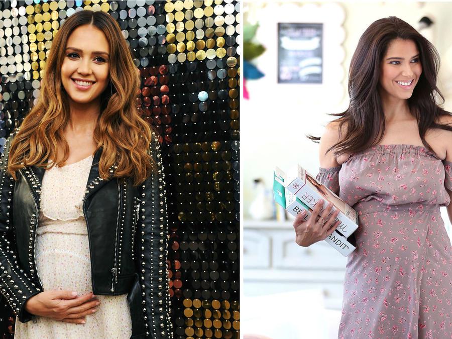 El estilo de las famosas en el embarazo