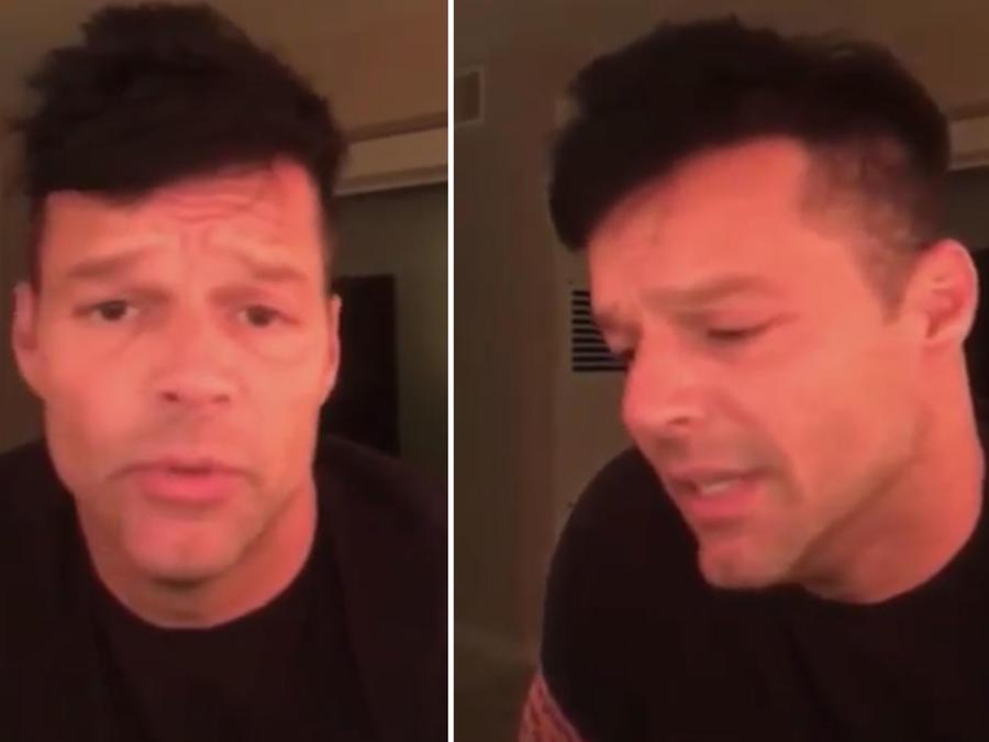 Ricky Martin pidió ayuda para Puerto Rico