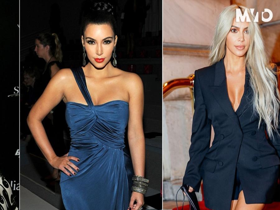 Kim Kardashian's Evolution Throughout the Years