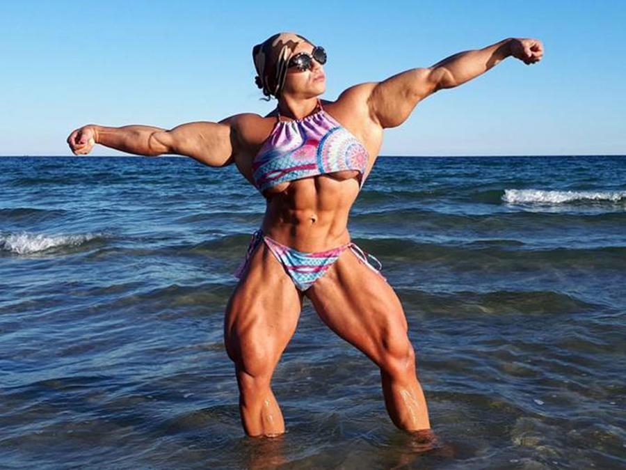 Los músculos de Nataliya dejan en ridículo a cualquiera