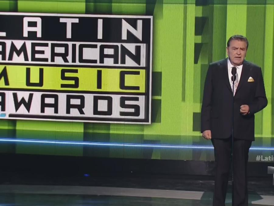 Don Francisco en los Latin AMAS