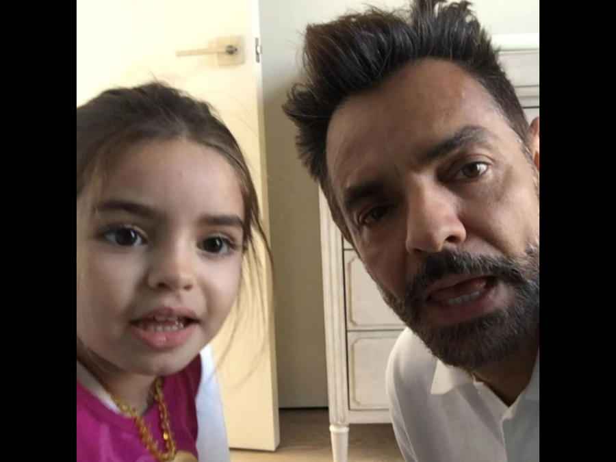 Eugenio Derbez con su hija Aitana