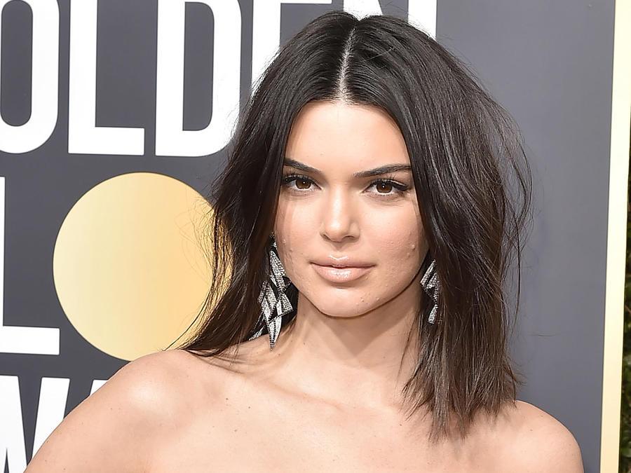 Kendall Jenner en los Golden Globes 2018