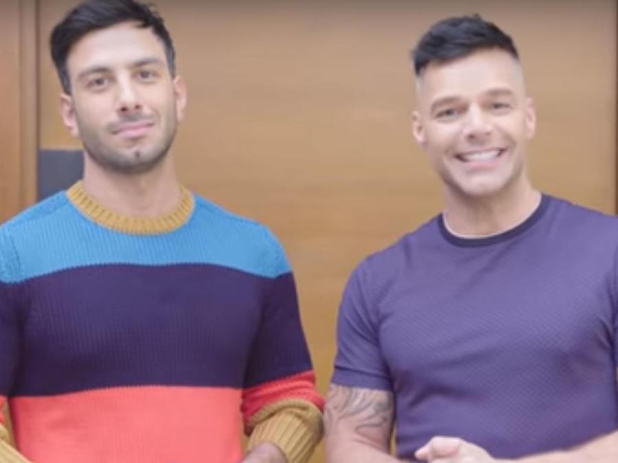 Ricky Martin con Jwan Yosef