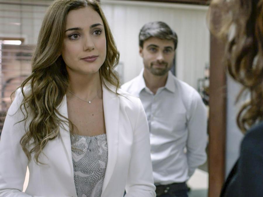 Ana Belena y Santiago Ramundo en Sangre De Mi tierra