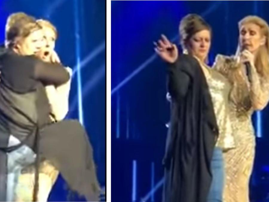 Céline Dion fan ebria