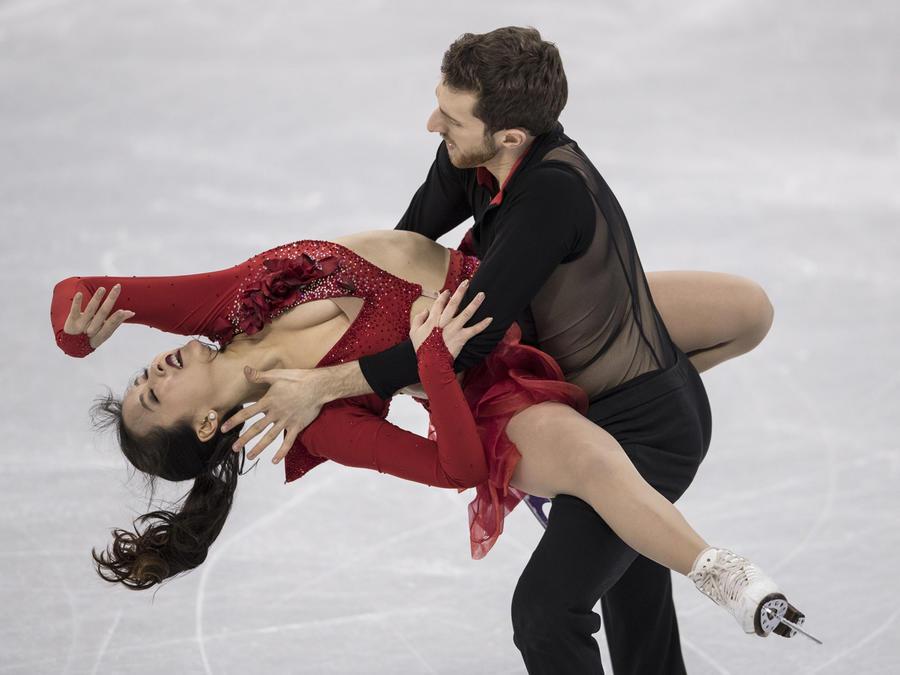 Yura Min en los Juegos Olímpicos de Invierno 2018
