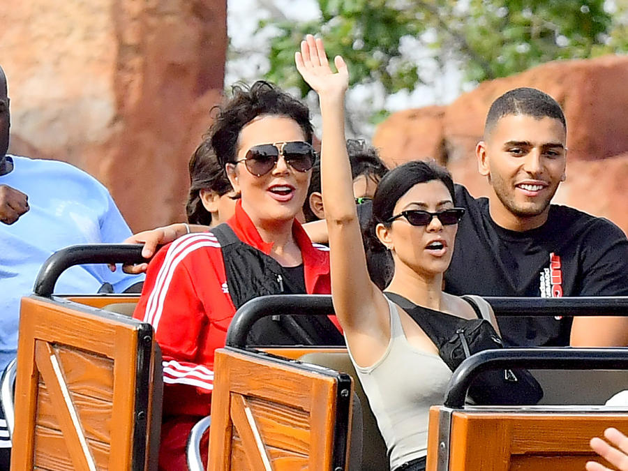 Kourtney Kardashian en Disneyland
