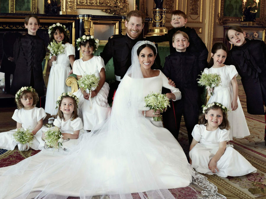 Foto oficial de la boda del príncipe Harry y Meghan Markle