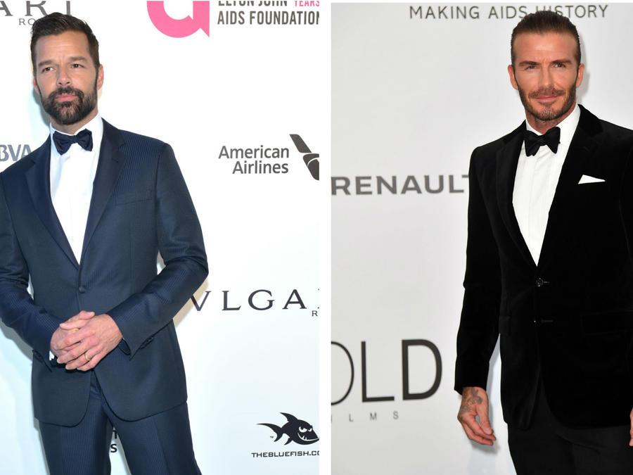 Ricky Matin, David Beckham