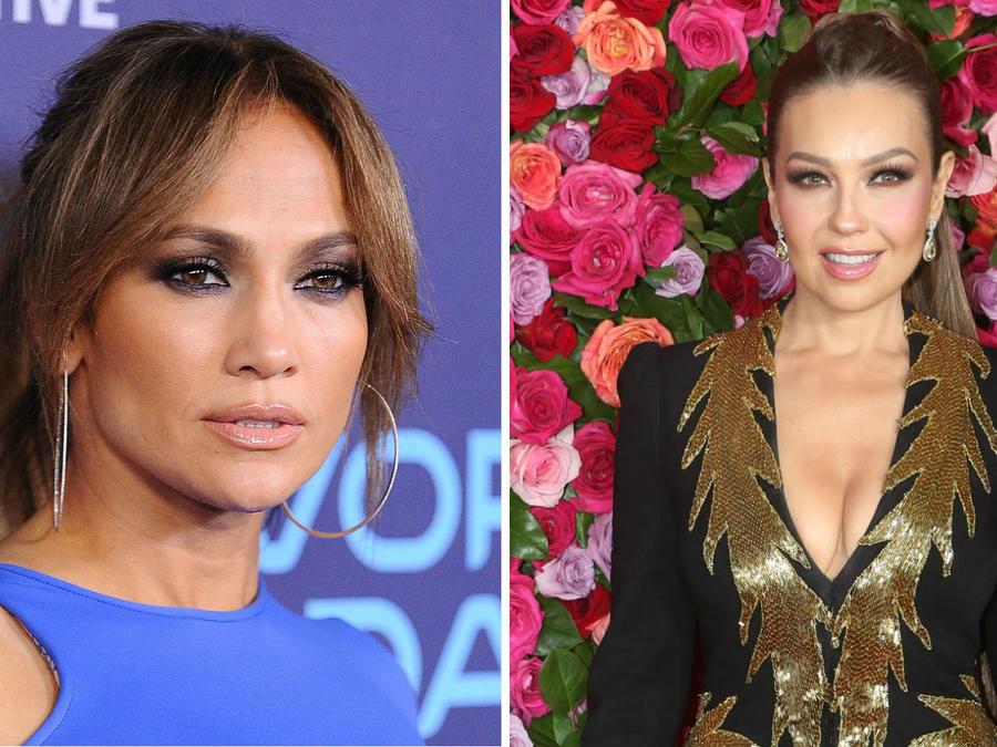 Jennifer Lopez y Thalía