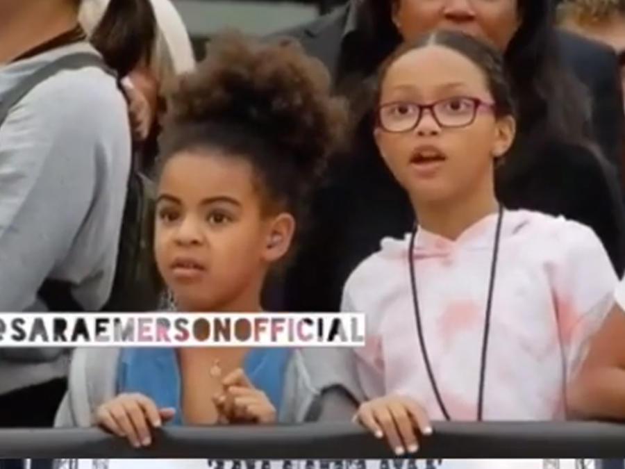 Así reaccionó Blue Ivy al ver un candente video de Beyoncé