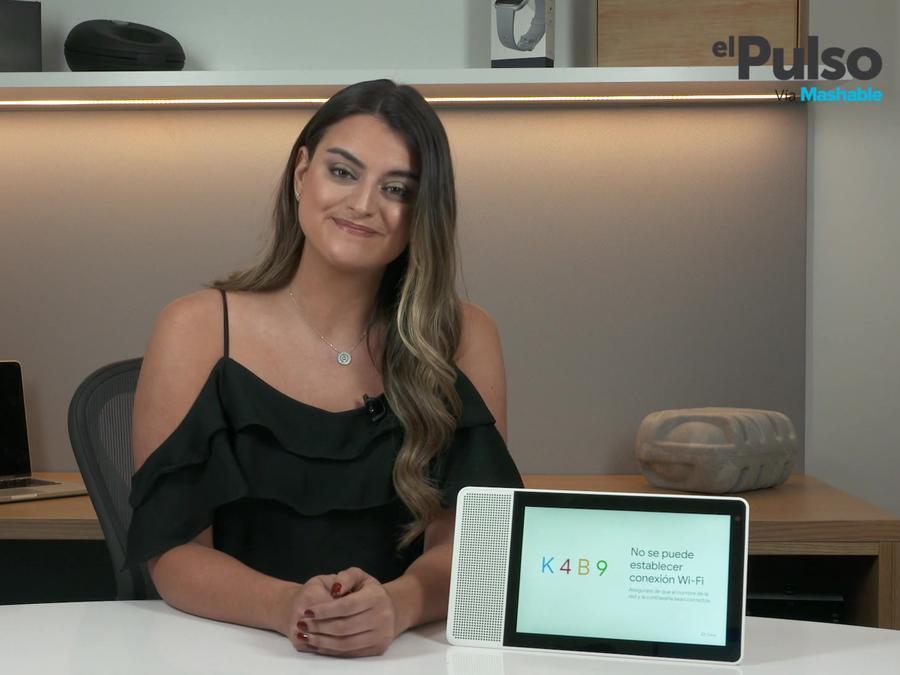 Alix Aspe y Lenovo Smart Display