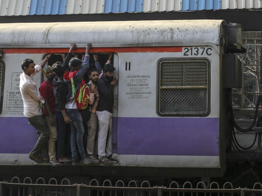 Tren en India