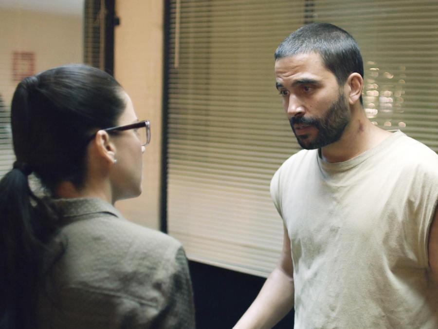 Igancio Serricchio y Ana Claudia Talancón en El Recluso
