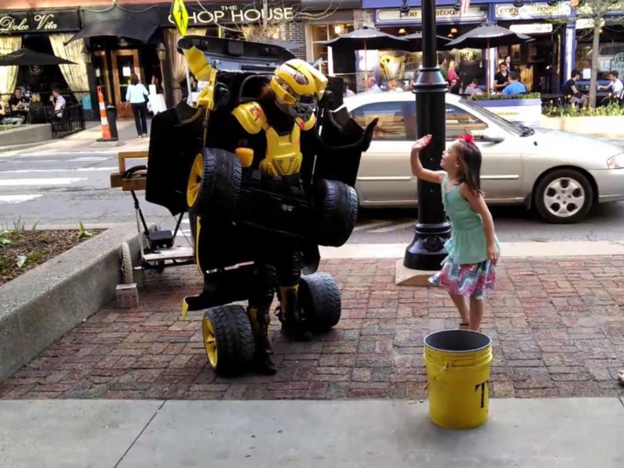 disfraz de Transformers
