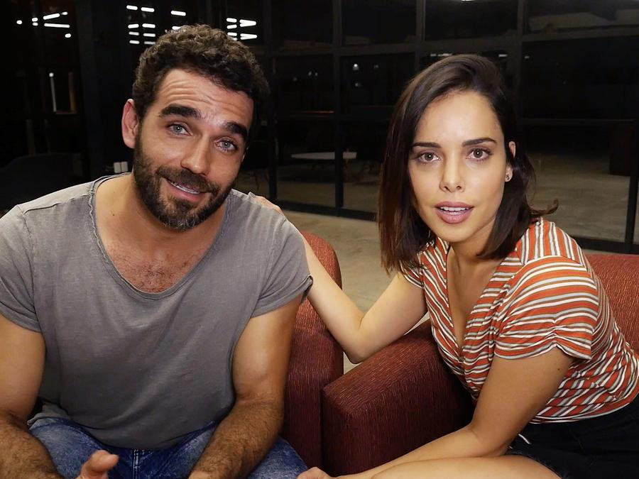 Marcus Ornellas y Vanesa Restrepo en Falsa Identidad