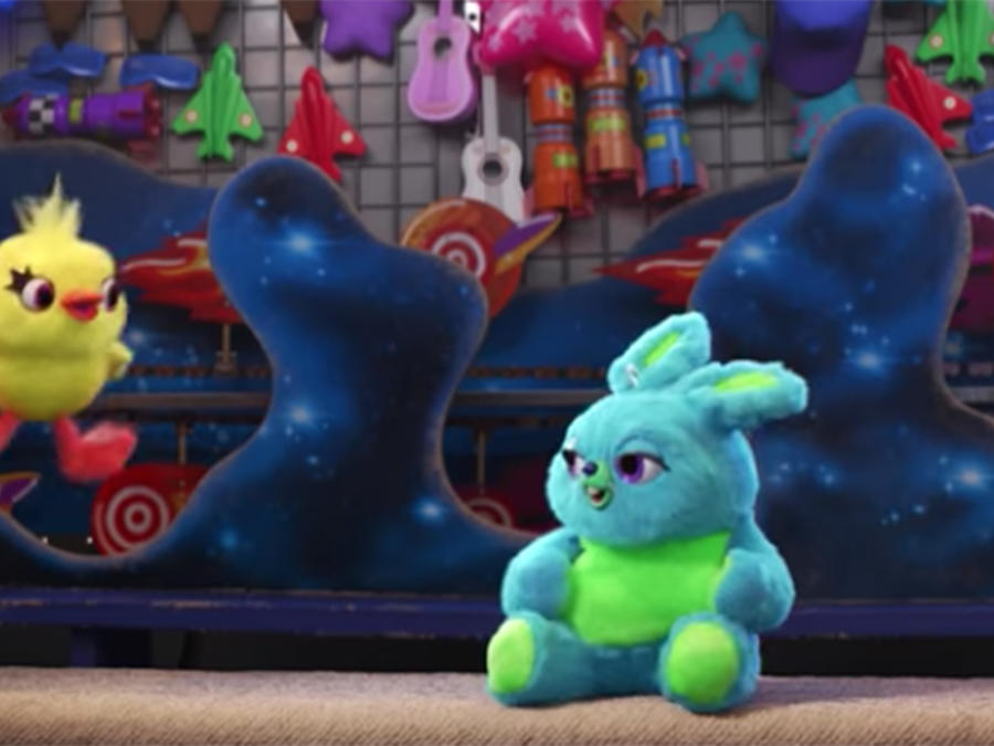 """Watch """"Toy Story 4"""" Introduce Two of Its Funniest Characters Yet"""