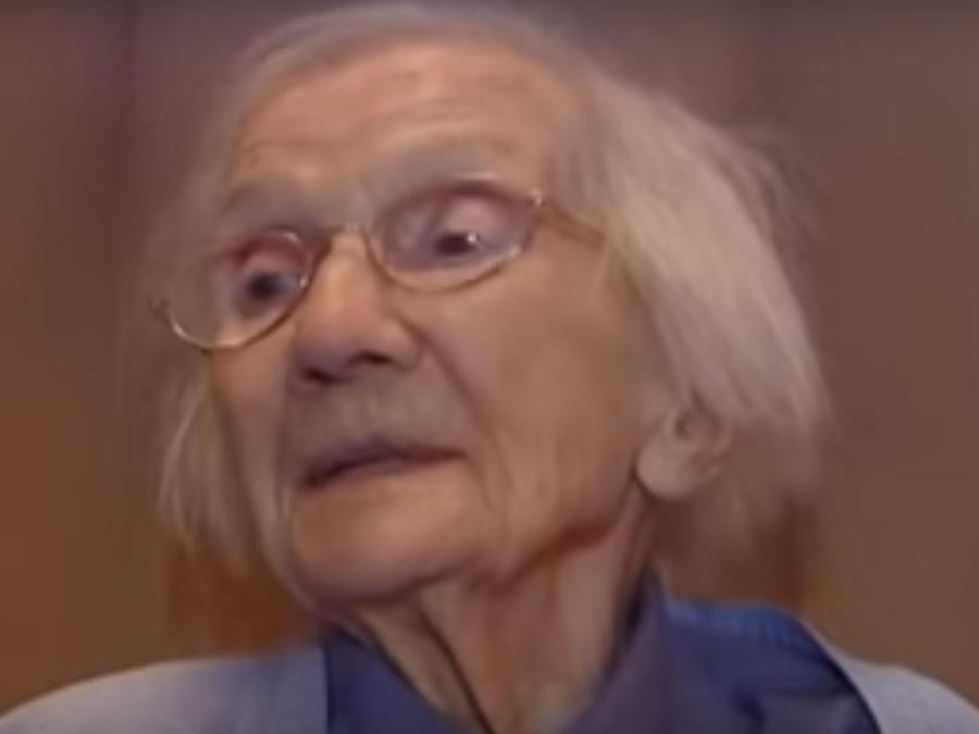 Una abuelita compartió su secreto para una vida feliz