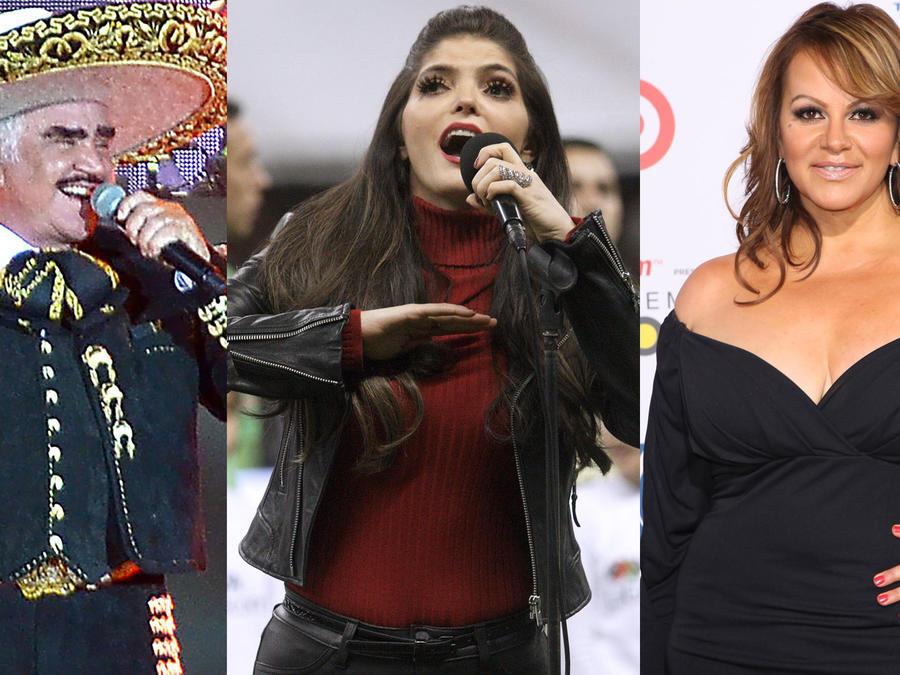 Collage famosos olvidan el himno