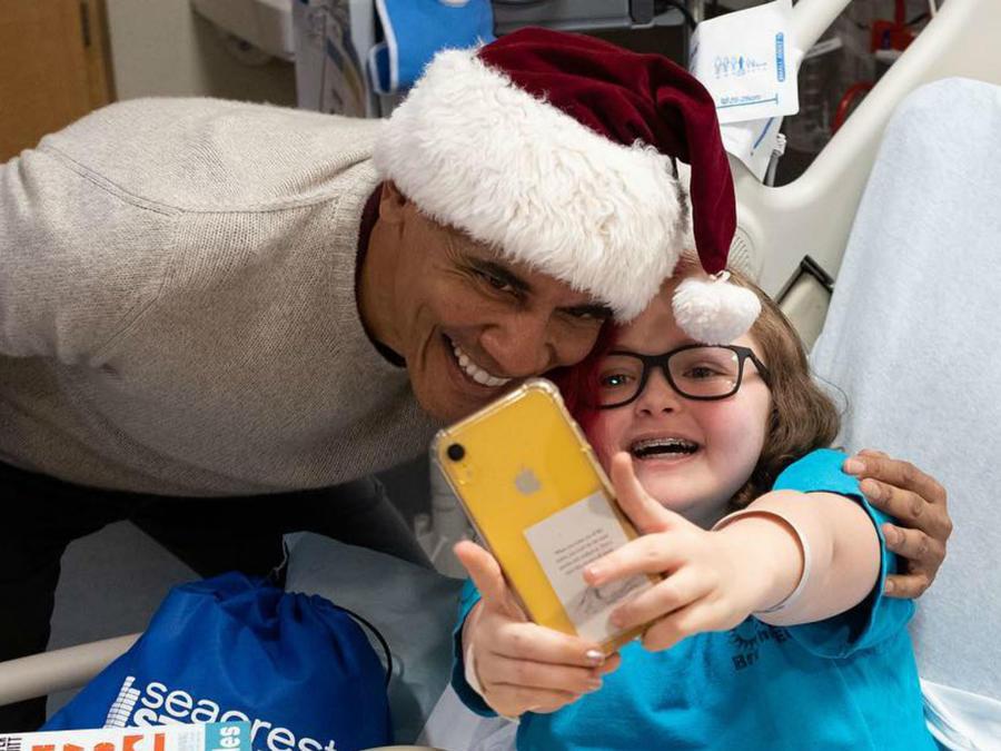 Barack Obama como Santa Claus