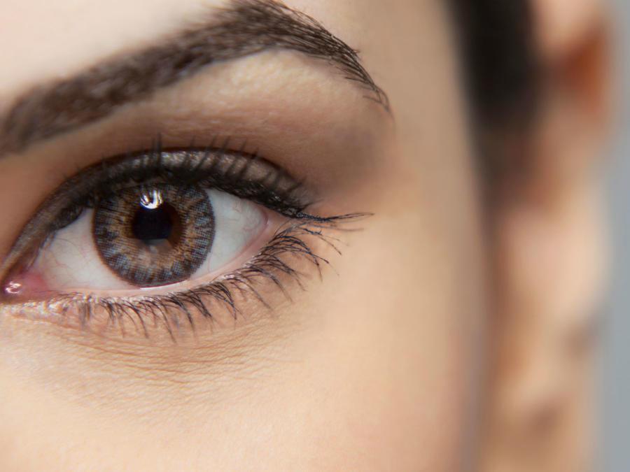 Close up al ojo de una mujer