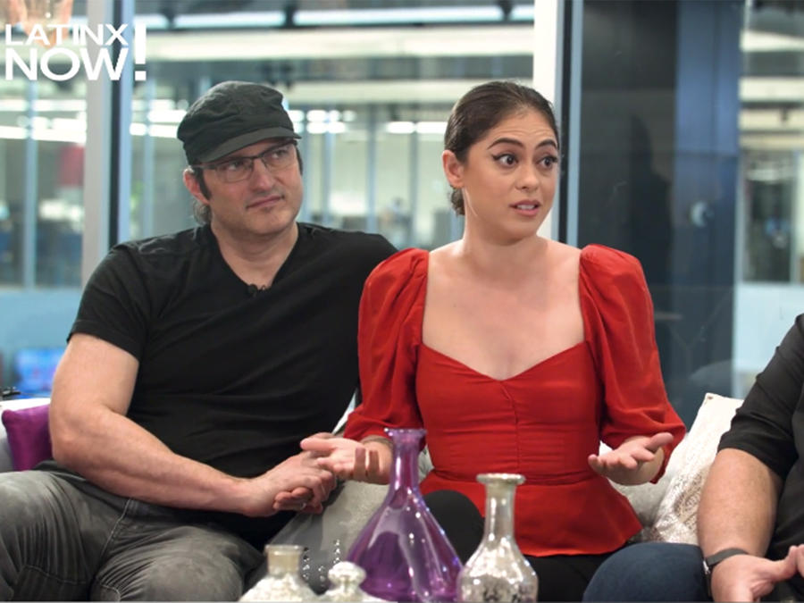 "Robert Rodriguez and Rosa Salazar Talk ""Alita: Battle Angel"""
