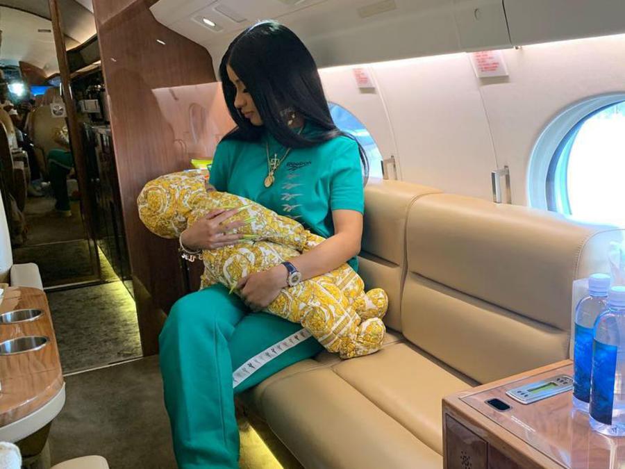 Cardi B y su bebé