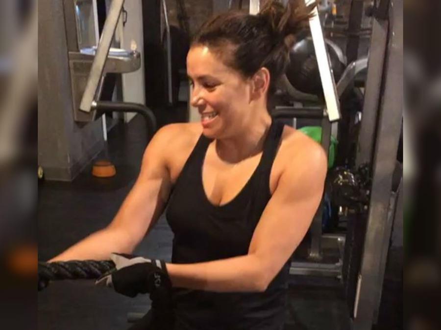 Rutina de ejercicios de Eva Longoria