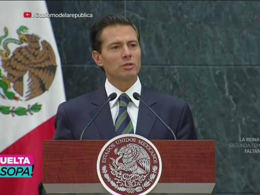 Peña Nieto, suelta la sopa