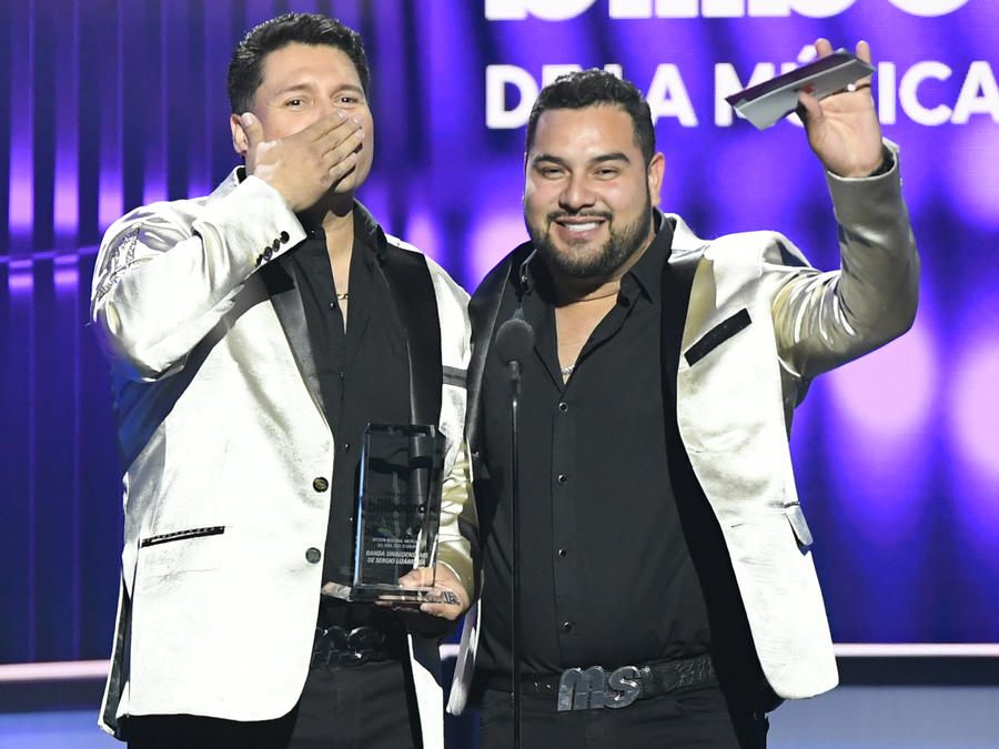 Banda MS en Premios Billboard 2019