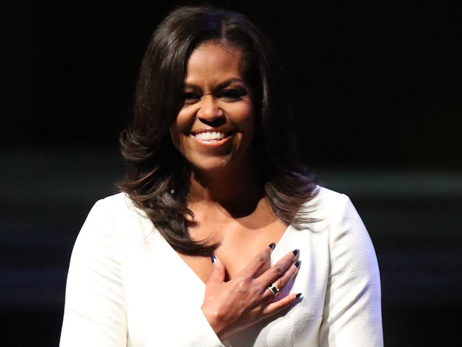 Michelle Obama  en el Royal Festival Hall de Londres