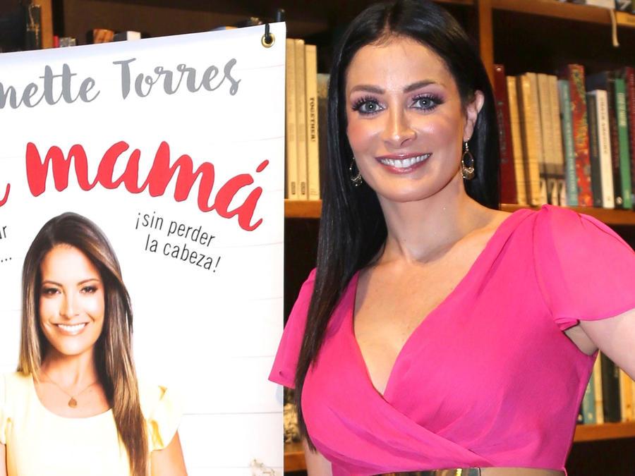Dayanara Torres en la presentación del libro 'Ser Mamá'