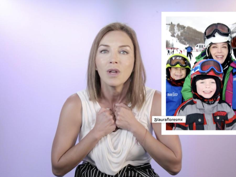 Laura Flores habla de la adopción