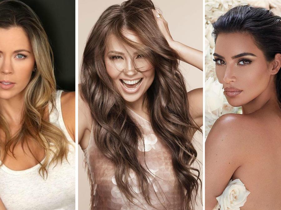 Ximena Duque, Thalía y Kim Kardashian