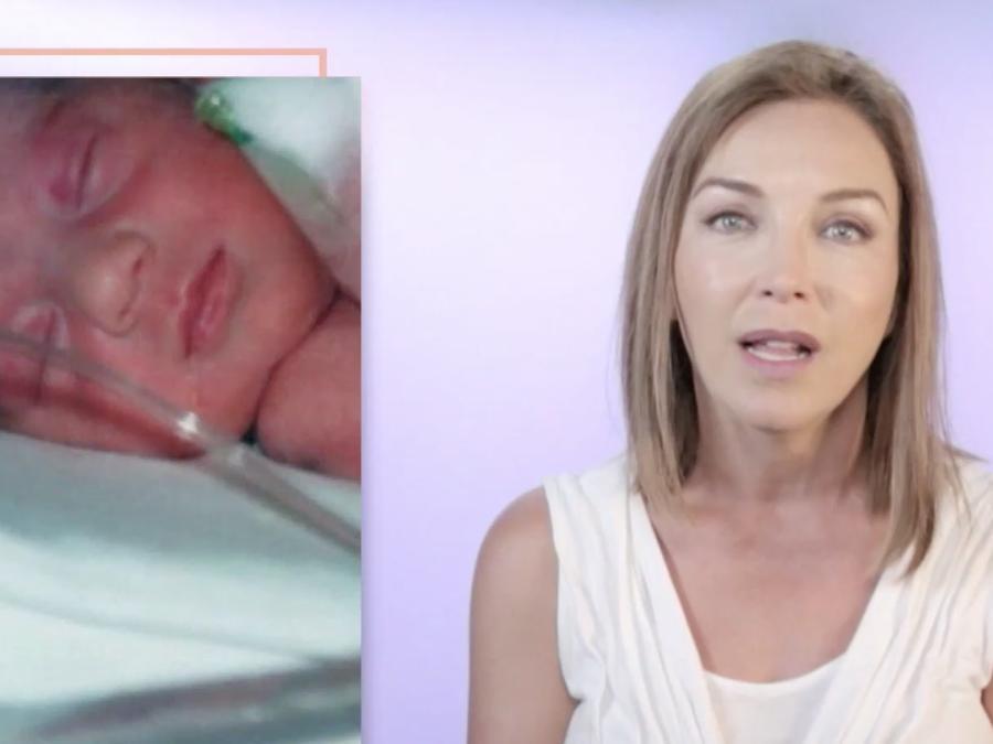 Laura Flores habla de su primer parto