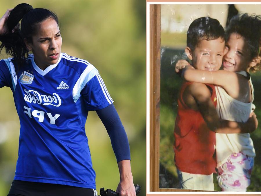 Vanina Correa portera y mamá