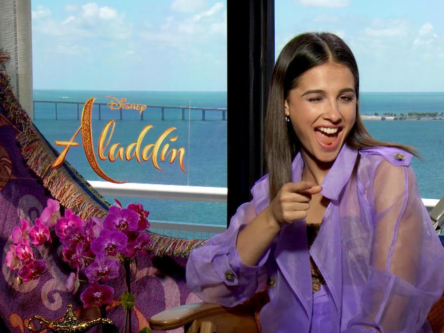 Aladdin: interview Naomi Scott (Princess Jasmine)