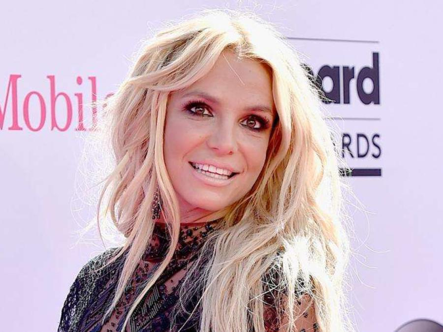 Britney Spears en la alfombra roja de Billboard Awards