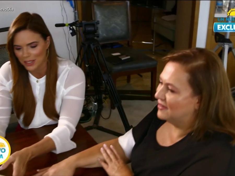 Rashel Díaz entrevista a viuda de Pablo Escobar