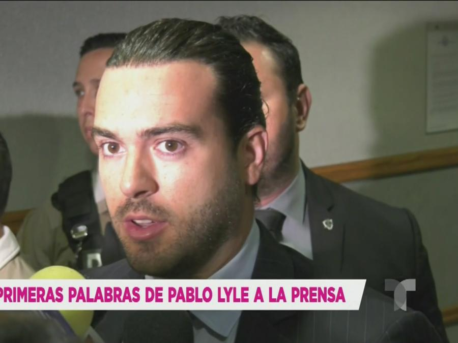 Pablo Lyle enfrentó a los medios (VIDEO)
