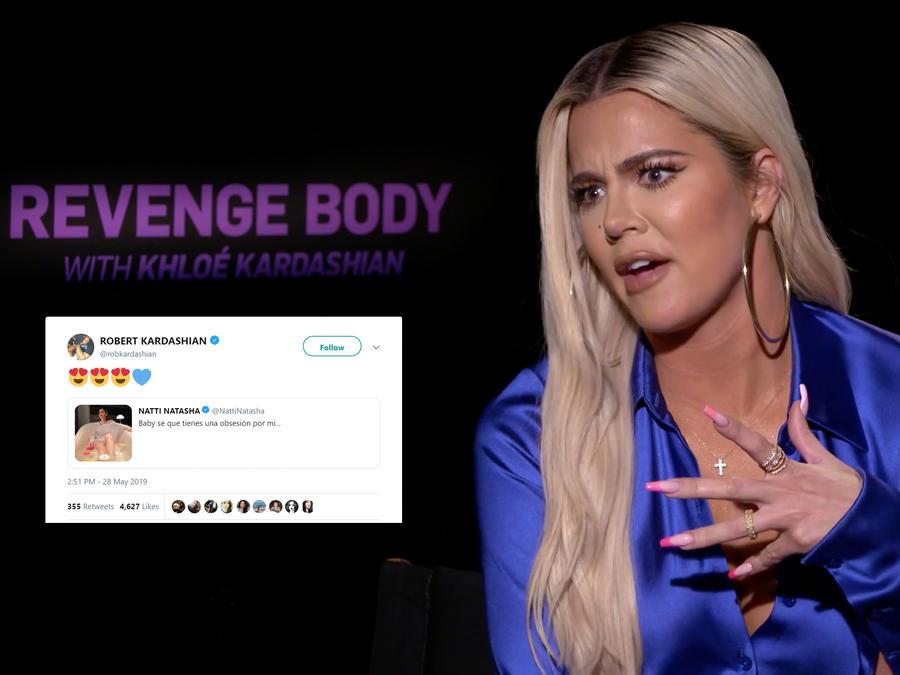Klohé Kardashian y tweet