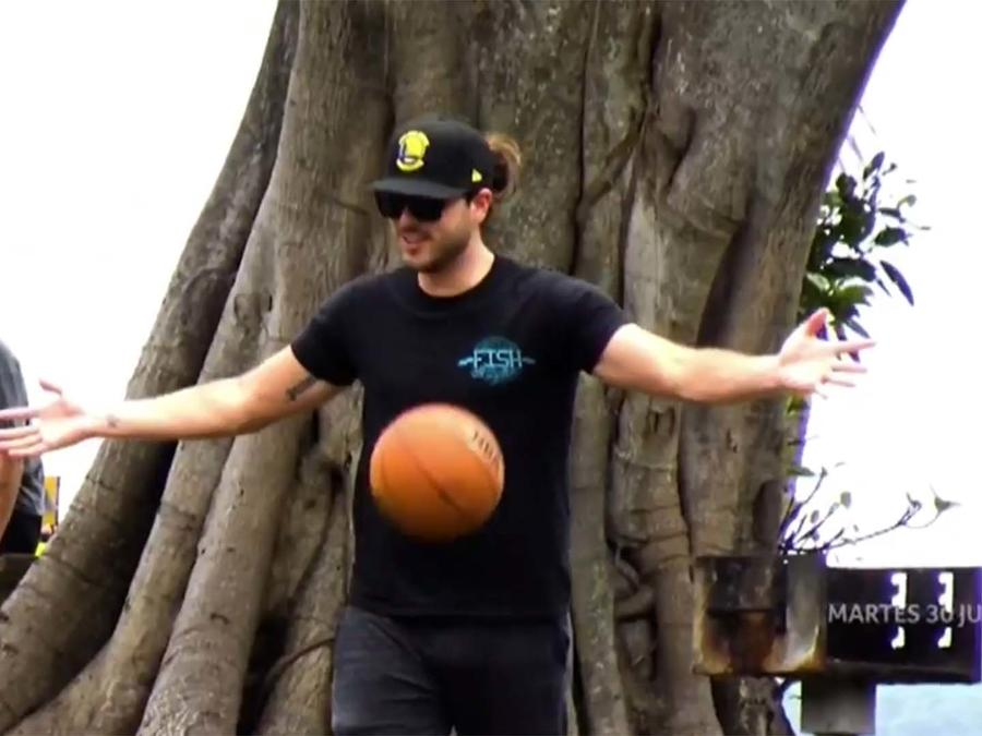 Pablo Lyle disfrutando de su libertad condicional en Miami