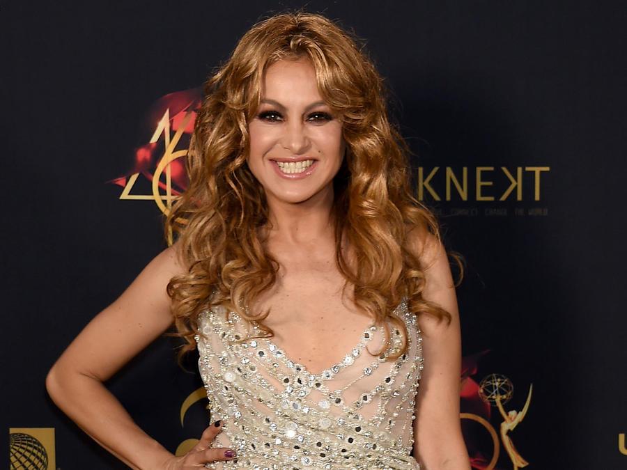 Paulina Rubio en la 46 edición de los Emmy Awards 2019