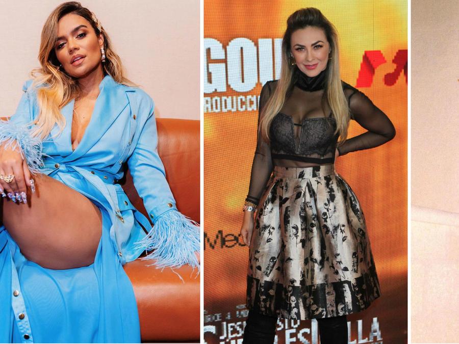 Karol G, Aracely Arámbula y Kylie Jenner