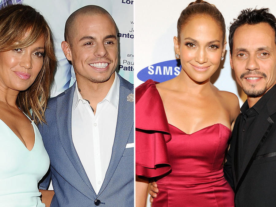 Collage Jennifer Lopez exparejas