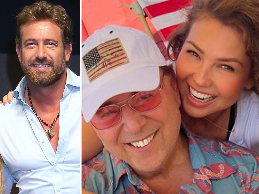 Collage famosas con parejas mayores