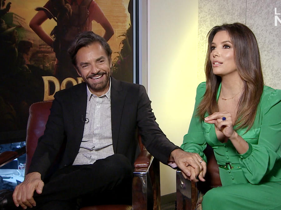 Eugenio Derbez and Eva Lomgoria
